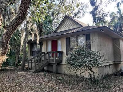 Fripp Island Single Family Home Under Contract - Right Of Firs: 111 Sand Piper Run
