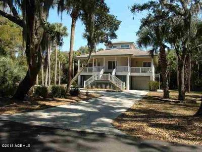 Fripp Island Single Family Home For Sale: 530 Rookery Lane