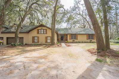 Beaufort County Single Family Home Under Contract - Take Backup: 58 Morgan Road