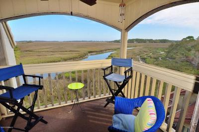 Fripp Island Condo/Townhouse For Sale: 199 Beach Club Villa