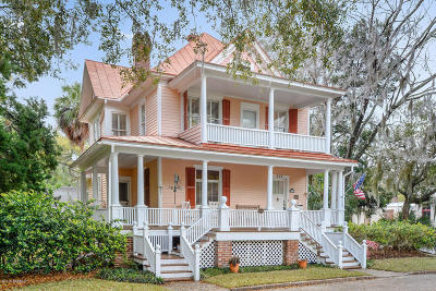 Beaufort Single Family Home For Sale: 502 Washington Street