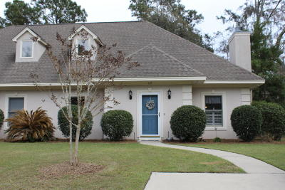 Beaufort County Condo/Townhouse For Sale: 419 Joshua Court