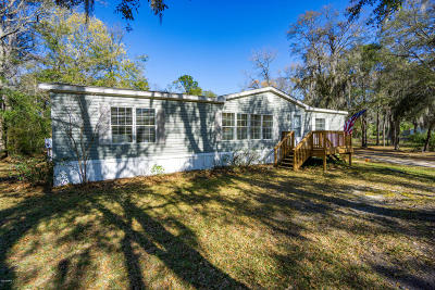 Beaufort County Mobile Home Under Contract - Take Backup: 11 Knollwood Lane