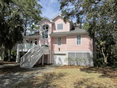 Fripp Island Single Family Home For Sale: 14 Crooked Creek Lane