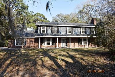 Beaufort, Beaufort Sc, Beaufot Single Family Home For Sale: 83 James F Byrnes Street