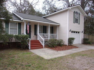 Beaufort SC Single Family Home For Sale: $180,000