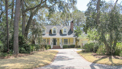 Beaufort County Single Family Home For Sale: 231 Dataw Drive
