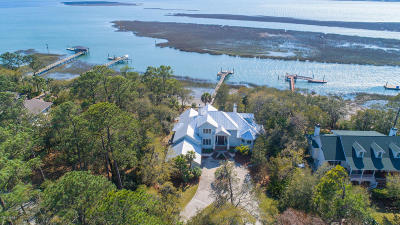 Beaufort, Beaufort Sc, Beaufot Single Family Home For Sale: 4 S Point Trail