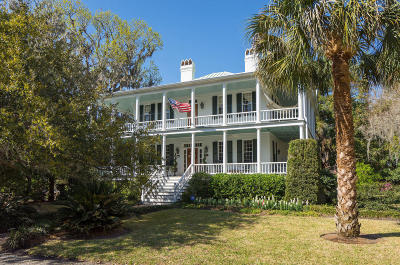 Beaufort, Beaufort Sc, Beaufot Single Family Home For Sale: 507 Washington Street