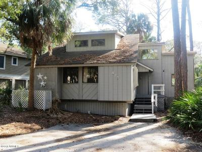 Fripp Island Single Family Home For Sale: 873 Salt Cedar Lane