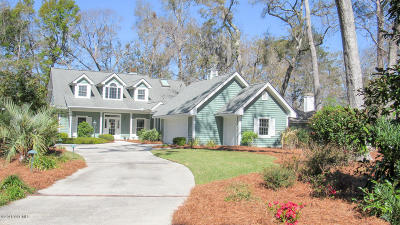 Beaufort County Single Family Home For Sale: 410 Bb Sams Drive