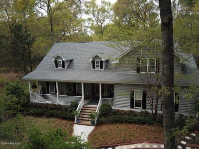 Beaufort County Single Family Home For Sale: 110 Marsh Drive