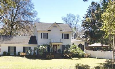Beaufort County Single Family Home For Sale: 51 Lucy Creek Drive