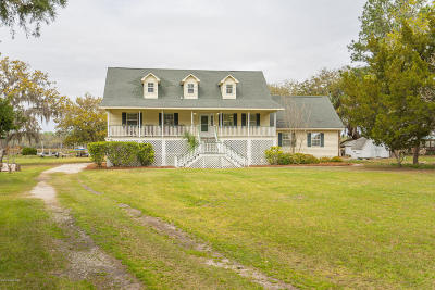 Baufort, Beaufort, Beaufot, Beufort Single Family Home For Sale: 1836 Carolina Ave