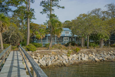 Beaufort Single Family Home For Sale: 286 Perryclear Drive