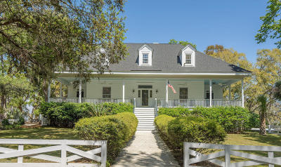 Beaufort Single Family Home For Sale: 161 Coosaw River Drive