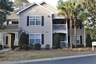 Beaufort County Condo/Townhouse For Sale: 50 Pebble Beach Cove #E118