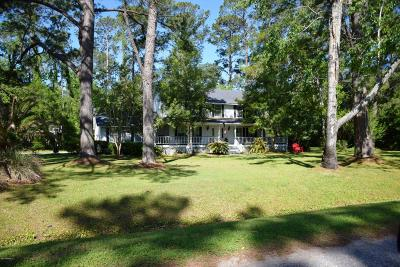 Beaufort, Beaufort Sc, Beaufot, Beufort Single Family Home For Sale: 3502 Morgan River Drive N
