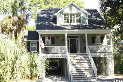 Beaufort County Single Family Home For Sale: 35 Lakeview Lane