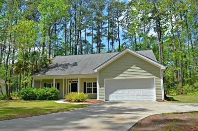 Beaufort Single Family Home For Sale: 569 Sams Point Road