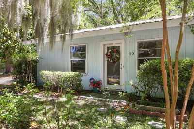 Bluffton Single Family Home For Sale: 20 Shad Avenue