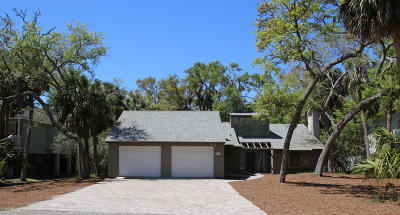 Fripp Island Single Family Home For Sale: 705 Swordfish Road