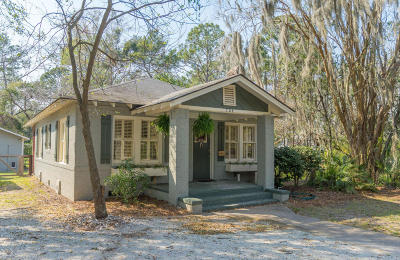 Beaufort County Single Family Home Under Contract - Take Backup: 724 Ribaut Road