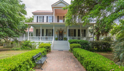 Beaufort County Single Family Home Under Contract - Take Backup: 66 Godley Road