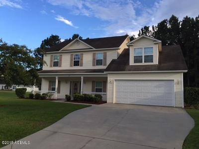 Bluffton Single Family Home For Sale: 15 Kendall Drive