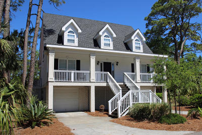 Fripp Island Single Family Home For Sale: 4 Crooked Creek Lane