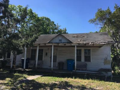 Beaufort Single Family Home For Sale: 1310 Congress Street