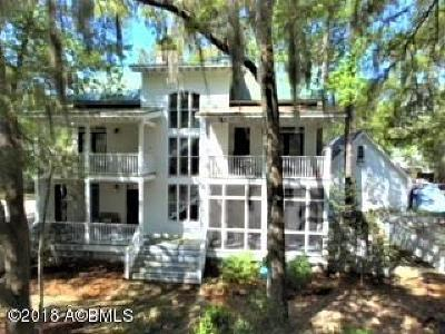 Beaufort, Beaufort Sc, Beaufot Single Family Home For Sale: 17 Holbrook Drive