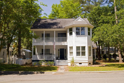 Beaufort, Beaufort Sc, Beaufot, Beufort Single Family Home For Sale: 110 Bartram Drive