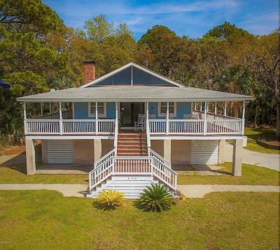 Fripp Island SC Single Family Home For Sale: $629,000