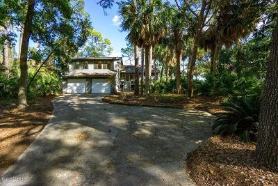 Fripp Island Single Family Home Under Contract - Take Backup: 840 Marsh Dunes Road