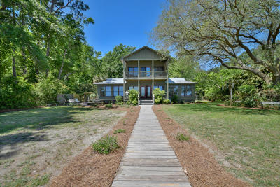 Beaufort, Beaufort Sc, Beaufot Single Family Home For Sale: 23 Dolphin View Point