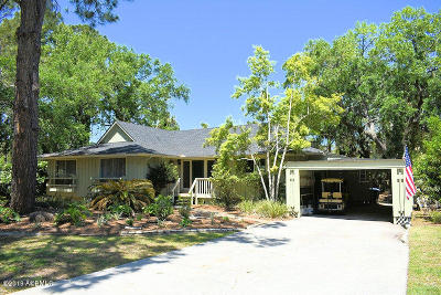 Fripp Island Single Family Home For Sale: 642 Dolphin Road