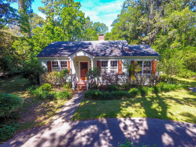 Beaufort, Beaufort Sc, Beaufot Single Family Home For Sale: 860 Ribaut Road