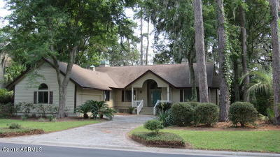 Beaufort County Single Family Home For Sale: 245 Dataw Drive