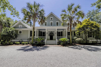 Beaufort County Single Family Home For Sale: 101 Bull Point Drive