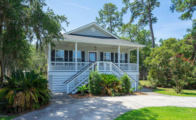 Beaufort, Beaufort Sc, Beaufot, Beufort Single Family Home For Sale: 2921 Waters Edge Court E