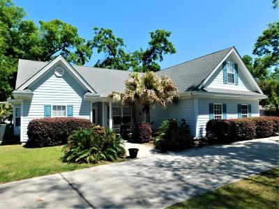Beaufort, Beaufort Sc, Beaufot Single Family Home For Sale: 933 Magnolia Bluff Circle