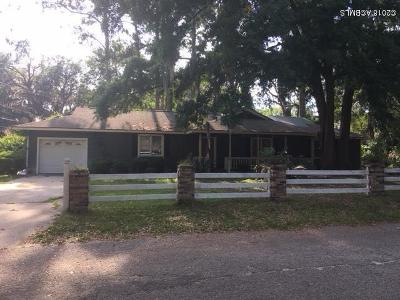 Beaufort, Beaufort Sc, Beaufot, Beufort Single Family Home For Sale: 1110 Hookstra Lane