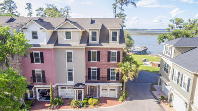 Beaufort Condo/Townhouse For Sale: 54 Battery Creek Club Drive