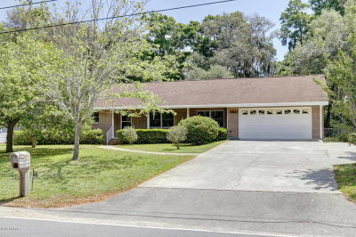 Port Royal, Port Ryal, Pt. Royal Single Family Home Under Contract - Take Backup: 1823 Narcissus Lane