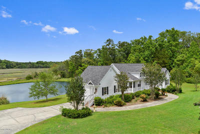 Beaufort, Beaufort Sc, Beaufot, Beufort Single Family Home For Sale: 584 Broad River Boulevard