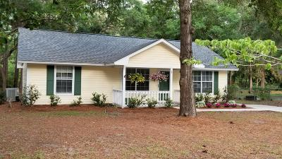 Beaufort County Single Family Home Under Contract - Take Backup: 8 Robin Way
