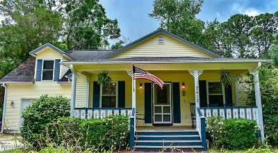 Port Royal, Port Ryal, Pt. Royal Single Family Home Under Contract - Take Backup: 2412 Waddell Road