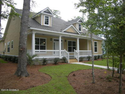 Beaufort County Single Family Home For Sale: 3760 Sage Drive