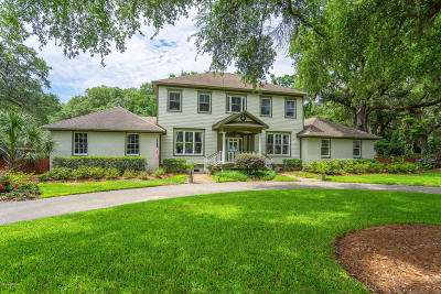 Beaufort, Beaufort Sc, Beaufot Single Family Home For Sale: 133 Spanish Point Drive